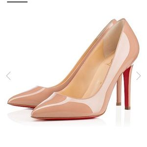 AUTHENTIC Christian Louboutin Nude Pigalle Pumps